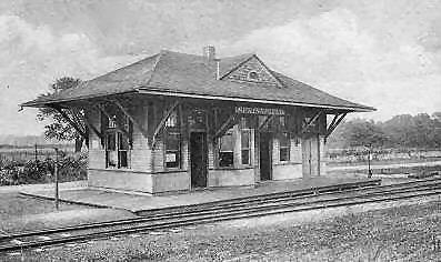 Springfield Train Station 1906