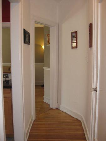 Hallway into Living Room
