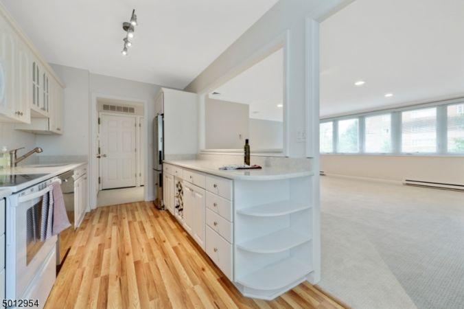Kitchen with new oak flooring