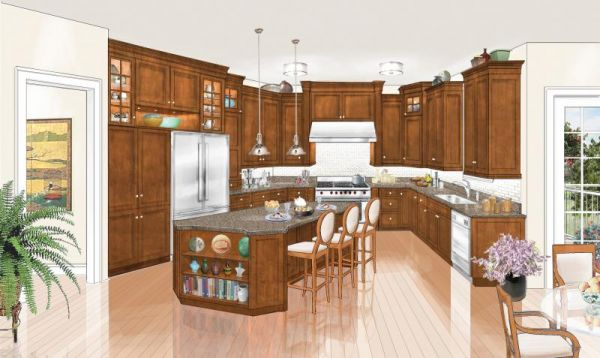 Summit Place Transitional Kitchen