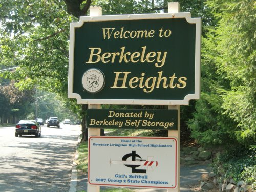 Welcome to Berkeley Heights